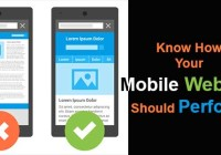 Know How Your Mobile Website Should Perform