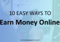 Earn Money Online In 2018