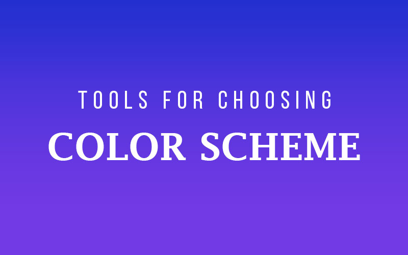 5 Best Tools For Choosing Color Scheme For Website