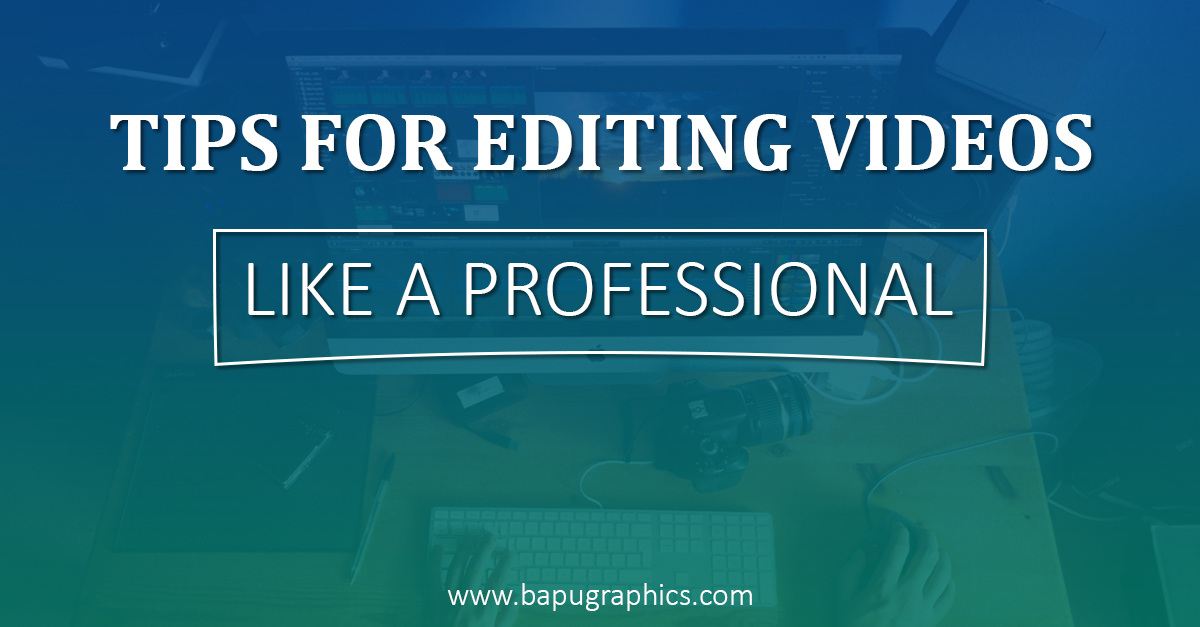 7 simple tips for editing videos like a professional for Tips for going minimalist