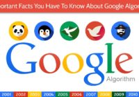 Important Facts You Have To Know About Google Algorithm