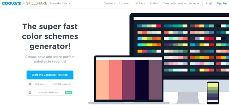 Tools & Tips For Choosing Color For Your Website
