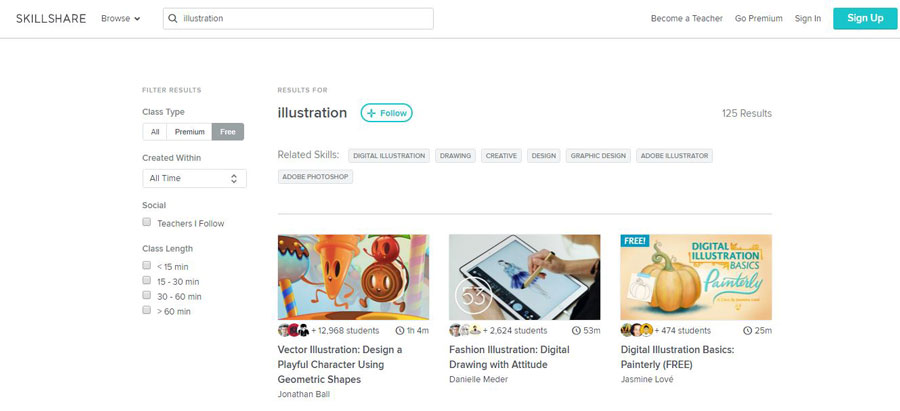 7 Free Websites To Improve Your Illustration Skills