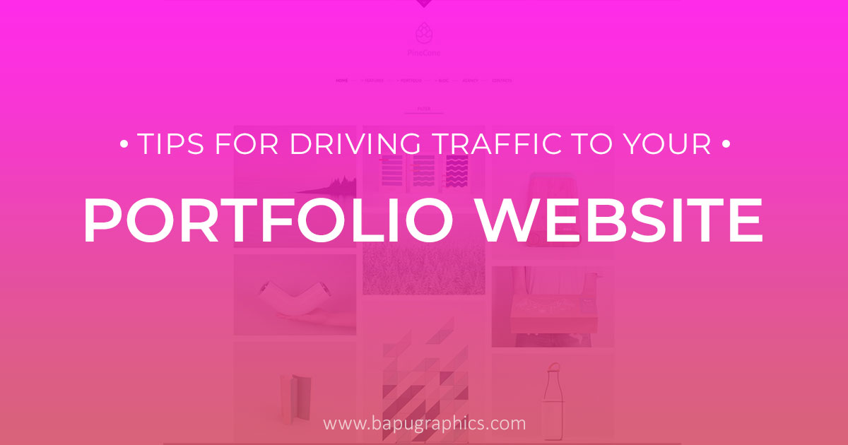 5 Tips For Driving Traffic To Your Portfolio Website
