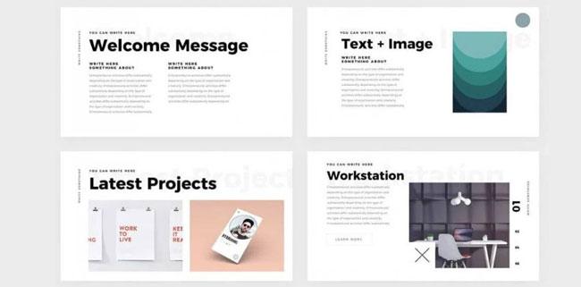 10 free keynote templates for presentation - multimedia course tips, Free Keynote Presentation Template, Presentation templates