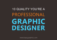 Quality of a Professional Graphic Designer