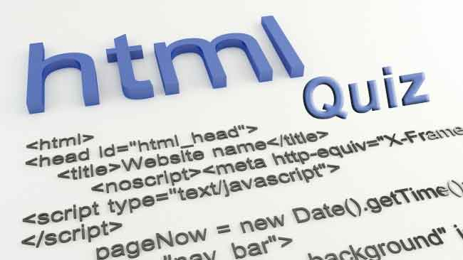 HTML Quiz for HTML Experts