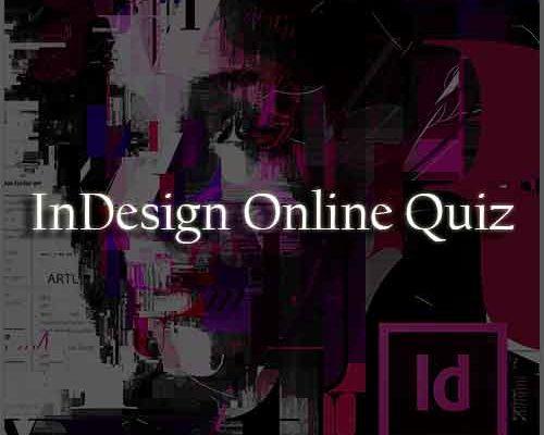 InDesign Online Quiz