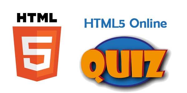 HTML5 Online Quiz