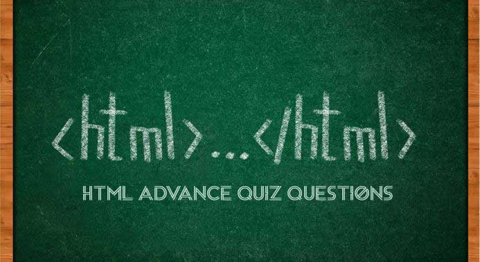 Html Advance Quiz Questions 6
