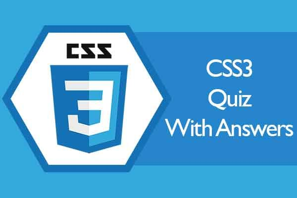 CSS3-Quiz-with-Answers