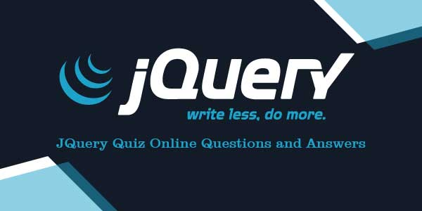 JQuery Quiz Online Questions and Answers