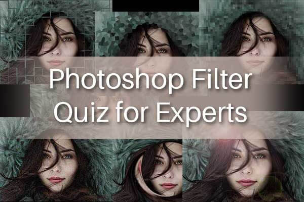 Photoshop Filter Quiz for Experts