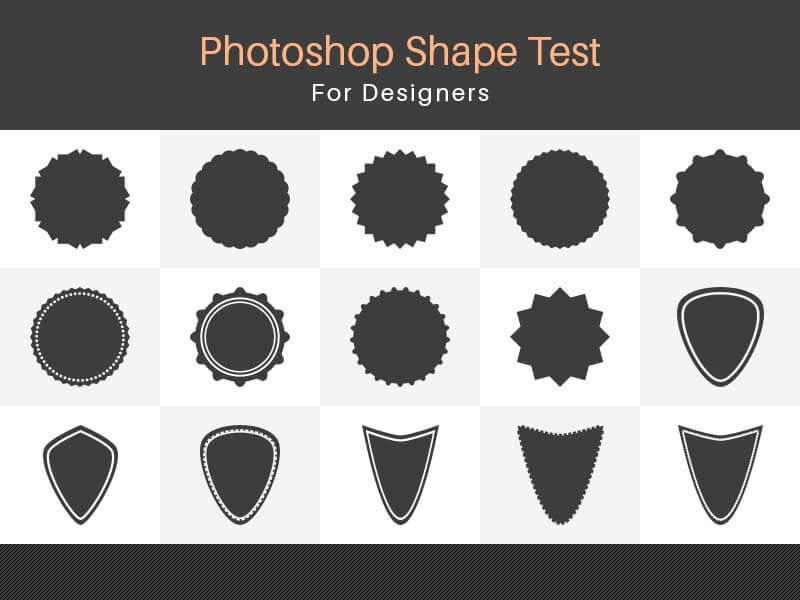 Photoshop Shape test For Designers