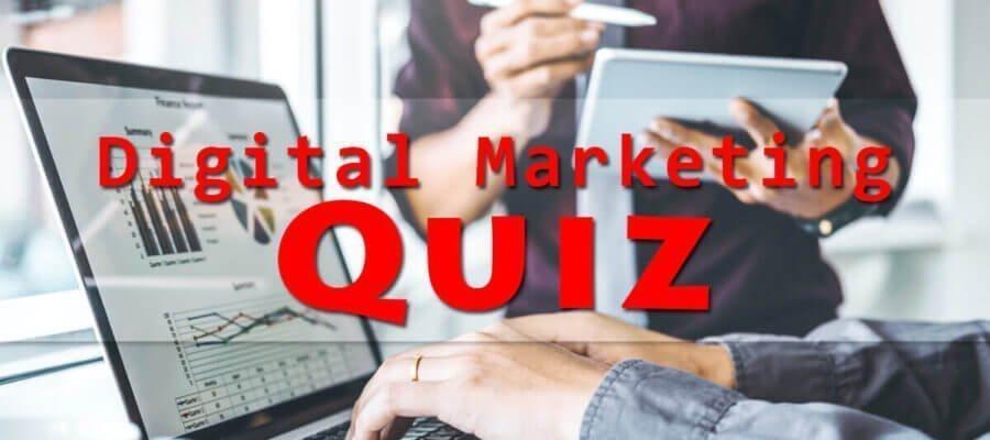 digital marketing quiz 2019