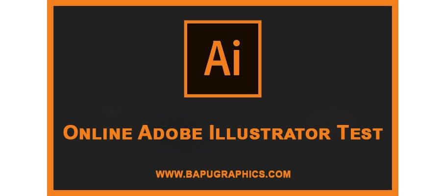 Online Adobe Illustrator Test